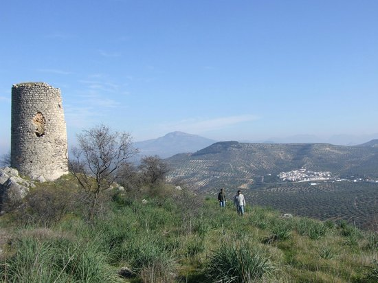 Casa Olea: Hiking from the house to medieval Moorish watchtower