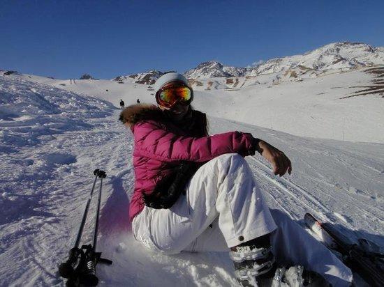 Puerta del Sol Hotel: valle nevado