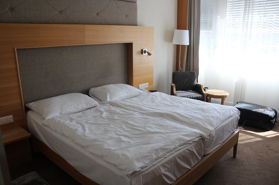 Continental hôtel Lausanne : Quarto