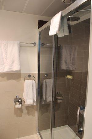 Continental hôtel Lausanne : Banheiro