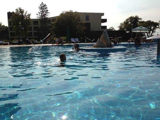 Hotel Azur: swimmingpool(out)