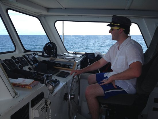 "Olin Marler Fishing and Dolphin Cruises: ""driving"""
