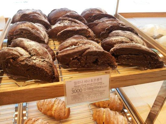 Paris Baguette Gangnam Station : Chocolate bread