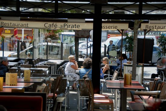 Café Le Pirate : Terrasse du Pirate