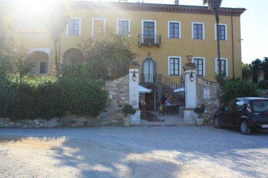 Hotel Villa Cheli : Entrée de l' hôtel