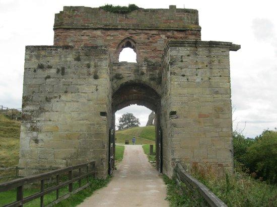 Tutbury Castle: Gatehouse