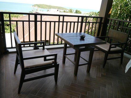 Nora Buri Resort & Spa : balcony