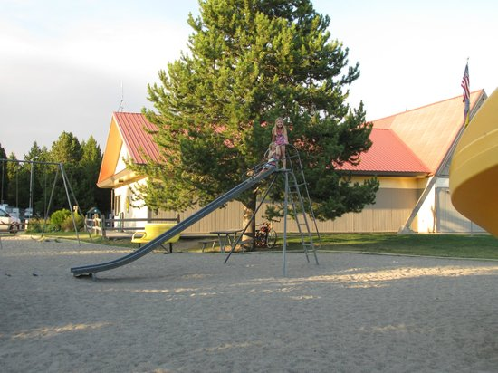Yellowstone Park KOA: playground