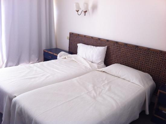 Hotel Souleias: chambre twin