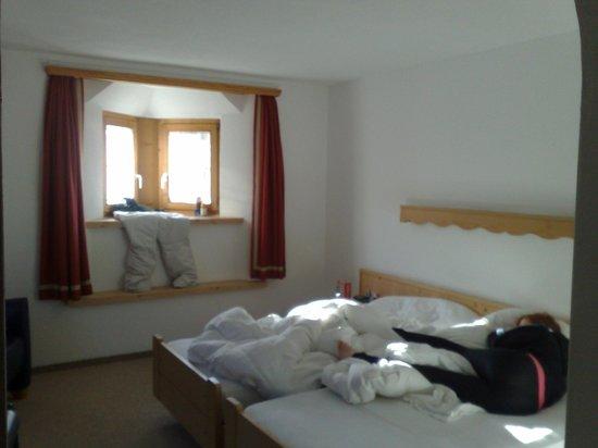 Hotel Donatz: Schlafzimmer (alter Hausteil)