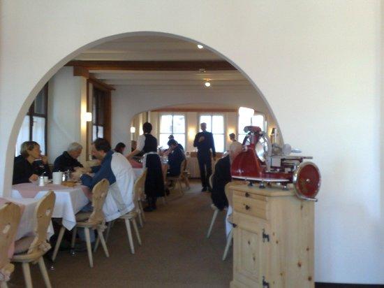 Hotel Donatz: Speisesaal bzw. Frühstücksraum