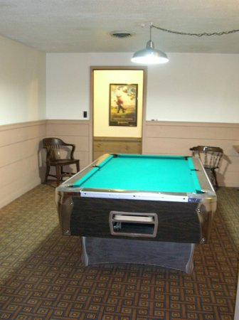 Grey Bonnet Inn: Billiard Room