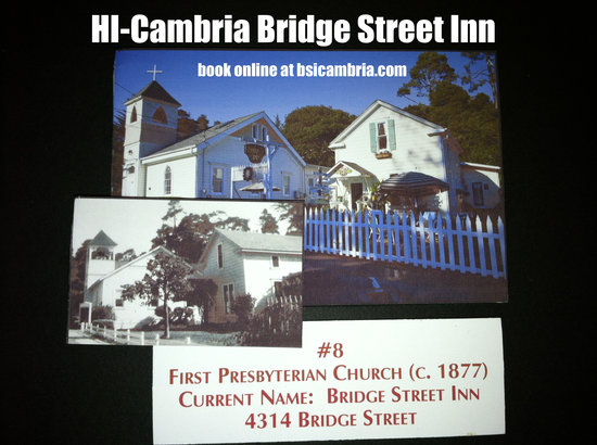 Bridge Street Inn: Historic lodging