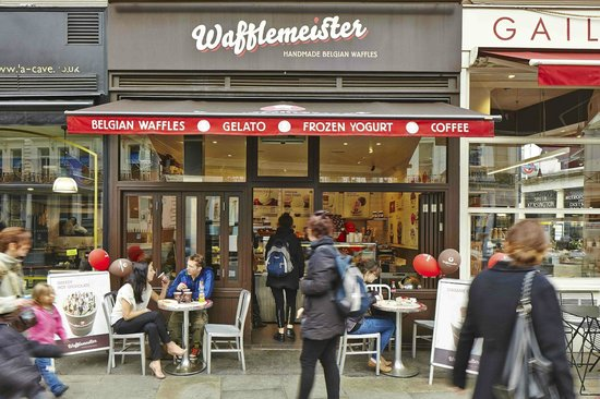 Photo of Restaurant Wafflemeister at 369 Oxford Street, London SW7 2LD, United Kingdom