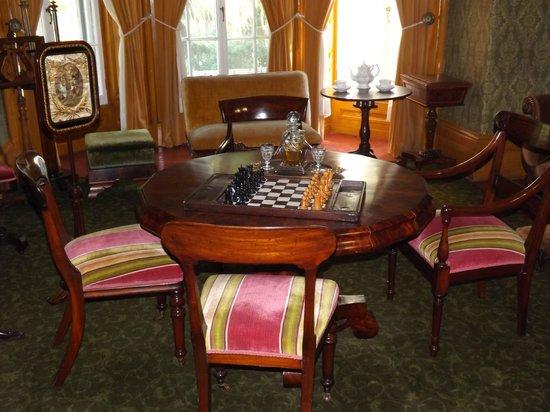 Bellevue House National Historic Site : entertaining area