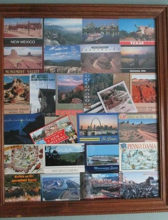 Old Clark Inn: Postcards collected along the road