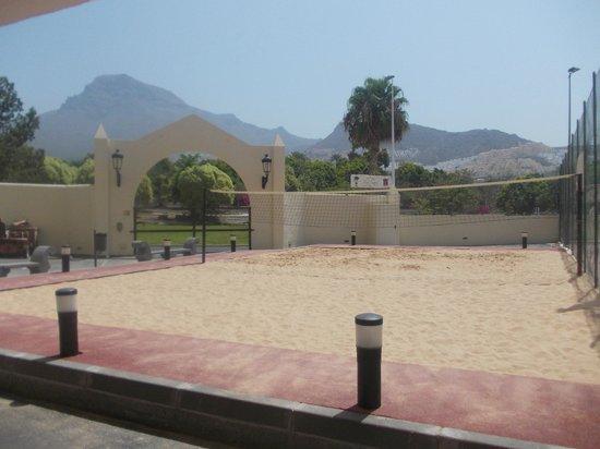 Hotel Isabel: outside area