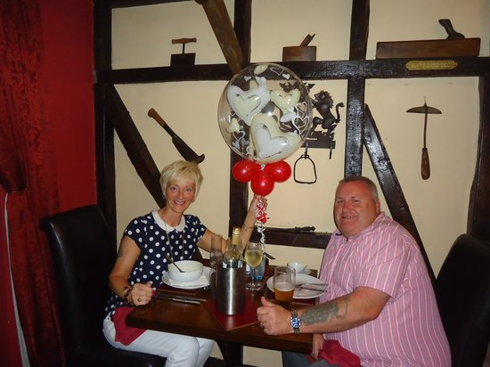 The Lamb Inn: Our Anniversary meal