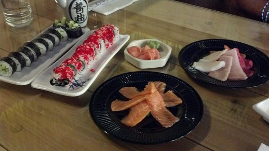 Kazumi Japanese Cuisine: Rolls and Sashimi