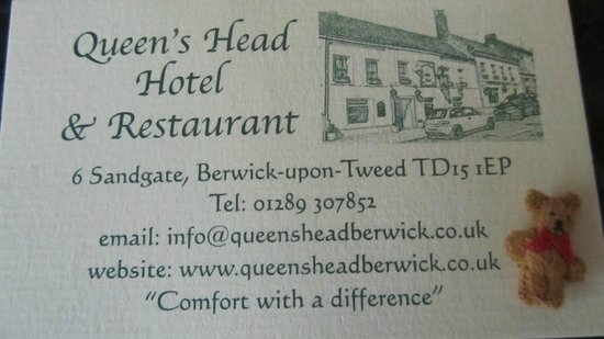 Queens Head Hotel: Great place to eat