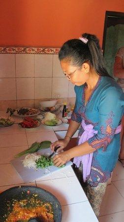 Villa Arjuna: cooking lessons