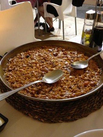 Asador Restaurante Pipol: paella di pesce