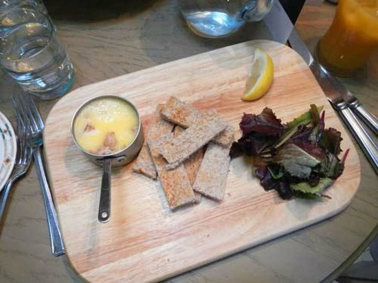 The Lord Crewe Hotel & Restaurant: starter