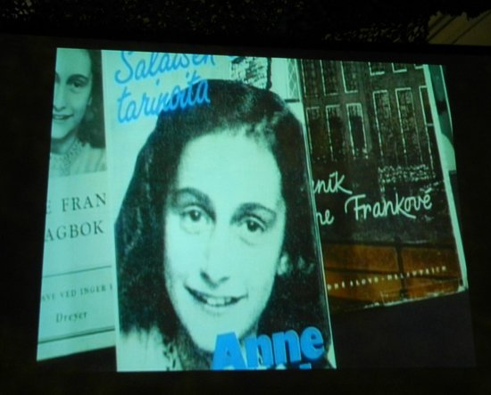 Musee Le Regiment de la Chaudiere : Anne Frank