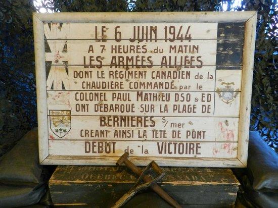 Musee Le Regiment de la Chaudiere : .