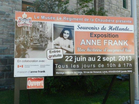 Musee Le Regiment de la Chaudiere : ..