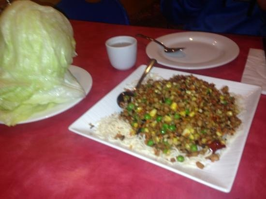 Enjoy Vegetarian: lettuce wrap