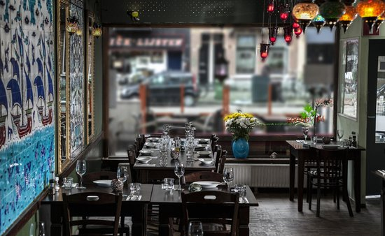 Interieur van Restaurant Maydanoz.