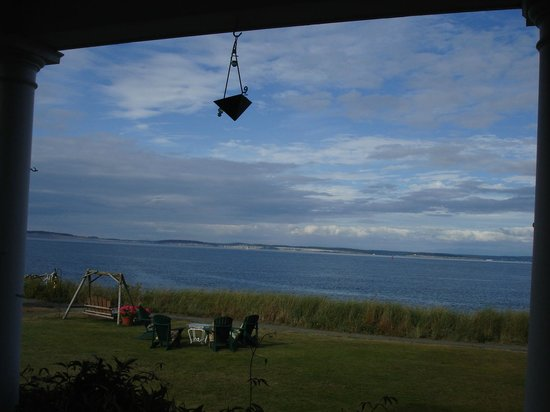 The Commander's Beach House: View from the porch.