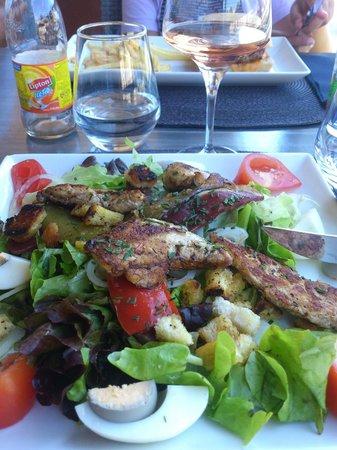 le bateau ivre : salade copieuse