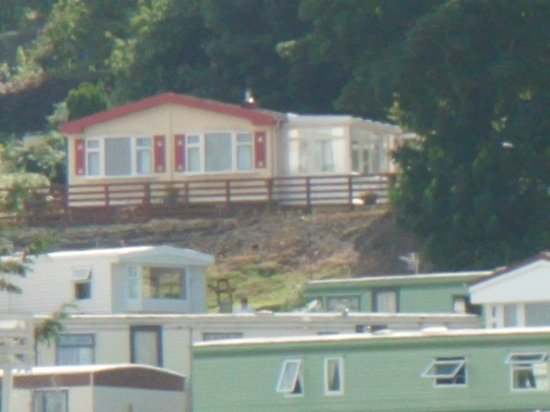 Aberystwyth Holiday Village: View from our room.