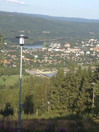 Hotell Hallstaberget: utsikt från hotellrummet
