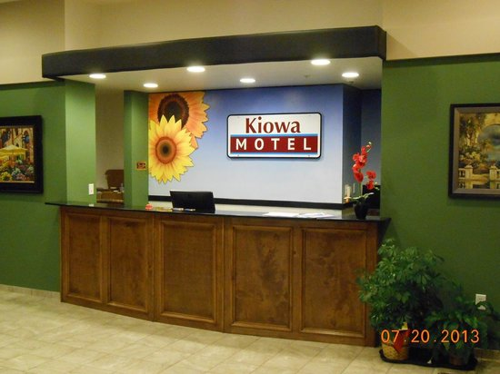 Kiowa, Канзас: Welcome to our lobby...