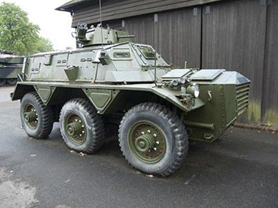 Aldershot Military Museum: Personnel carrier