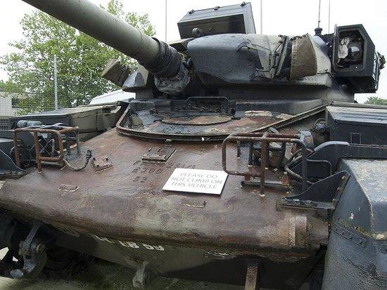 Aldershot Military Museum: Tank