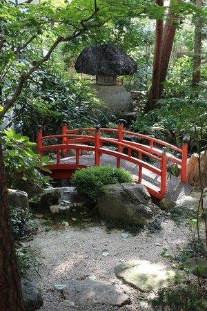 Oyado Yamakyu: Il giardino interno