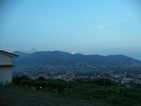 Casa Pendola: tramonto