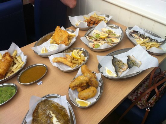 Pips Fish: Menu tasting for our pre-opening training