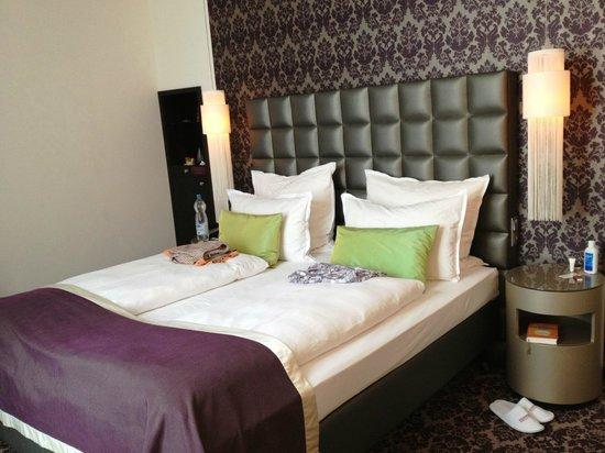 Steigenberger Hotel Herrenhof Wien: unser Zimmer im 5.OG