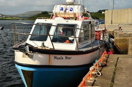 Sliabh Liag Boat Tours: Das Boot