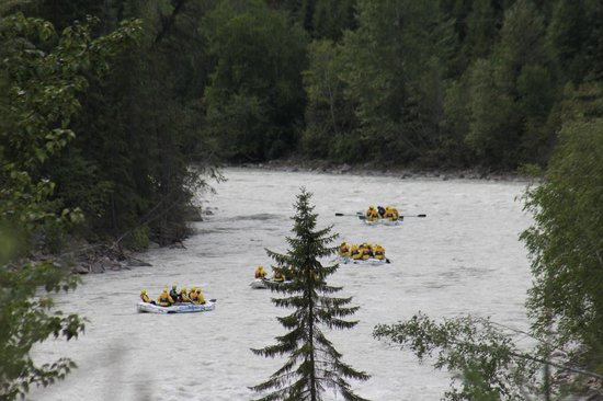 Wild Water Adventures: Rafting the Great Kicking Horse River BC Canada