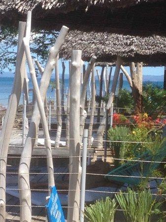 L'Heure Bleue : Lodges en front de mer