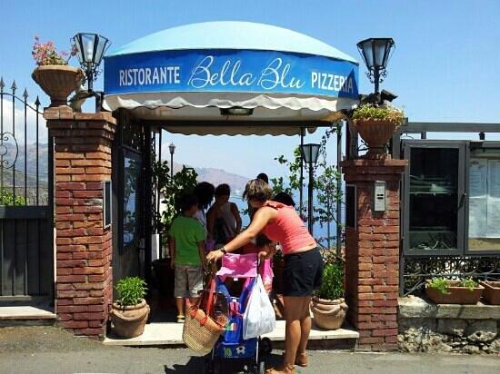 Ristorante Bella Blu: Ingresso Ristorante/Pizzeria