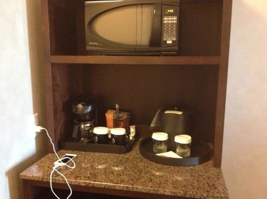Hilton Garden Inn Toronto Airport West/Mississauga: Microwave was a plus
