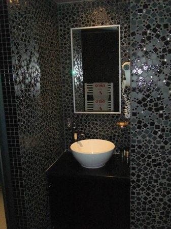 Aero Hotel: Moderno Baño
