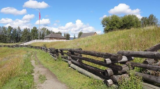 Fort St. James National Historic Site: Its really a compound, not a walled fort. A palisade likely existed in the early days @ 1825, bu